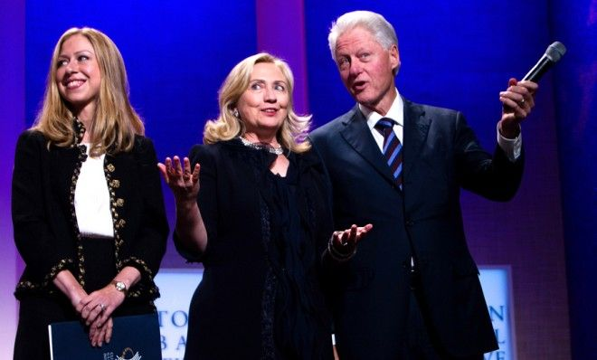 the bill hillary chelsea clinton foundation